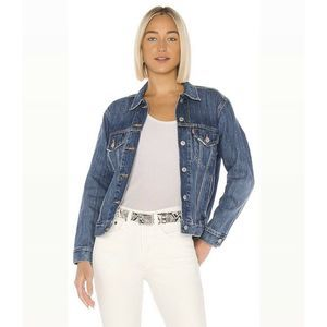 Levi's Ex Boyfriend Trucker Oversized Denim Jacket